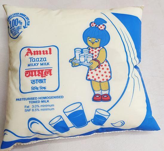 Picture of Milk Taaza-500 ml.(Amul)