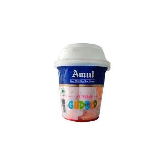 Picture of Ice Cream Sundae Gudbud 125 ml.(Amul)