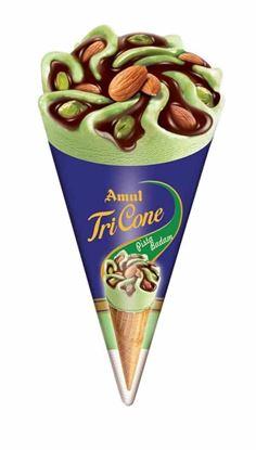 Picture of Ice Cream Kesar Pista 120 ml.(Amul)