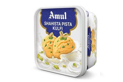 Picture of Ice Cream  Pista Kulfi (Shahista)-1L.(Amul)