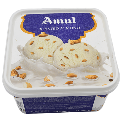 Picture of Ice Cream Roasted almond 1L.(Amul)