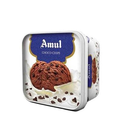 Picture of Ice Cream Choco Chips 1L.(Amul)