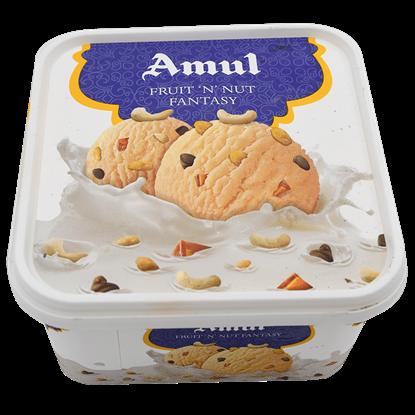 Picture of Ice Cream Fruit N Nut Fantasy 1L.(Amul)