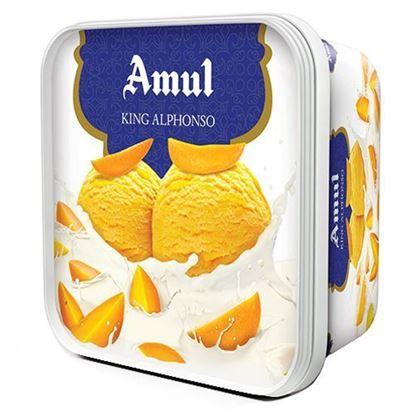 Picture of Ice Cream Alphonso 1L. (Amul)