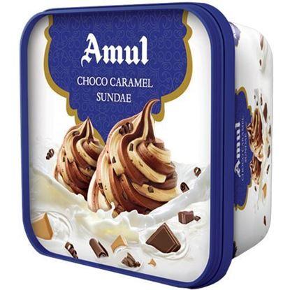 Picture of Ice Cream Choco Caramel 1L.(Amul)